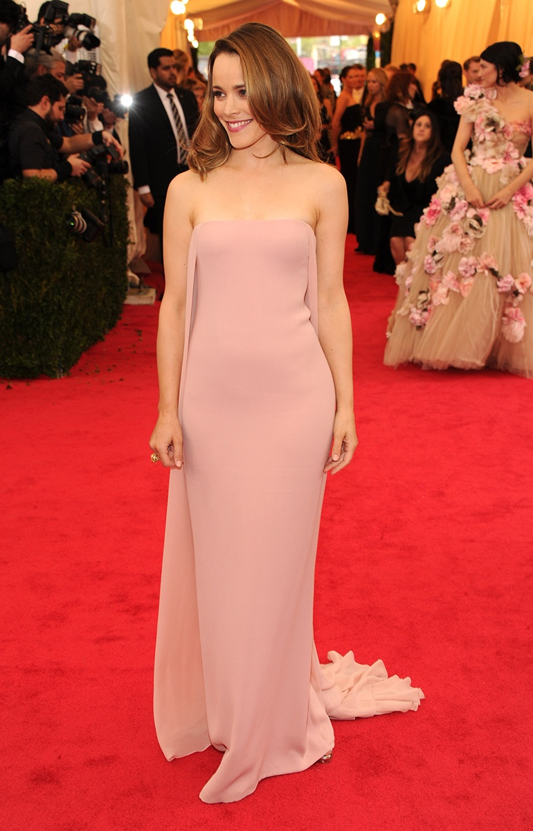 Rachel McAdams in a Ralph Lauren Collection dress and Fred Leighton jewelry